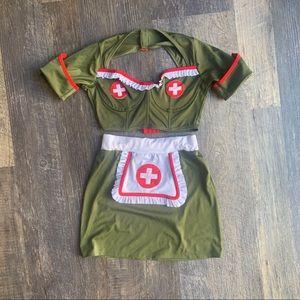 Military nurse Halloween costume